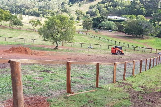 Timber Post Timber Top Railing